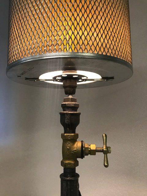 Wasserpumpen Lampe Waterpipe Design